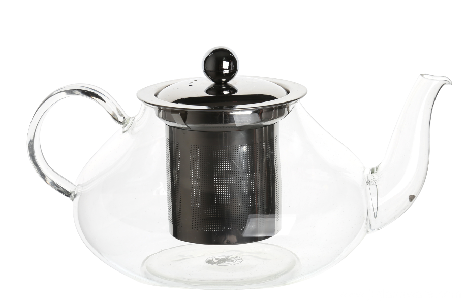 SGS 900ml Glass Teapot European Glass Pot