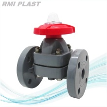 Plastic Diaphragm Valve CPVC For Chemical