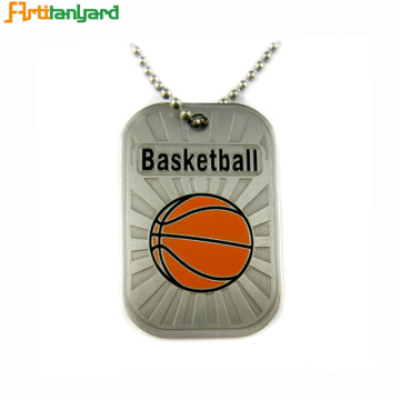 Customized Metal Dog Tag With Embossed Logo