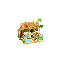 Juguetes de coleccionables de madera para Global Houses-Thailand Resort Hotel
