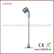 Aprobación CE 1W debajo de la luz del gabinete para la joyería LC7316