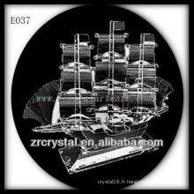Modèle de trafic de cristal délicat E037