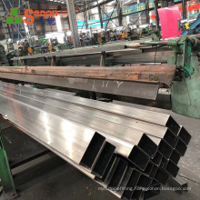 201 304 316 square pipe railing handrail  steel pipe stainless per kg price