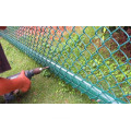 Chain link fence type panel