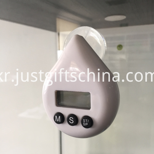 Promotional Plastic Water Drop Shaped Timer_4