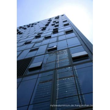 China-Fabrik-bester Preis Customed Aluminiumglas-Zwischenwand