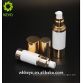 Airless cosmetic 30 ml 15 ml airless pump bottles from bottom