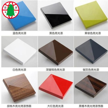 High Glossy UV melamine MDF board 18mm