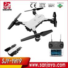 New Pocket Drone YH19 VS DJI Mavic Combo Eachine E58 Mini WIFI FPV With 2MP Wide Angle Camera High Hold Mode Foldable SJY-YH19