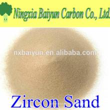 66% de haute qualité fournisseur de sable de zircon