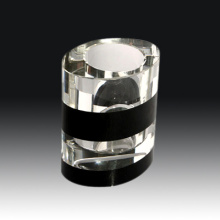 High Quality Crystal Glass Pen Holder