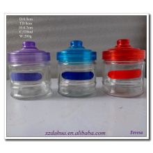 360ml Different Colour Glass Spice Bottle