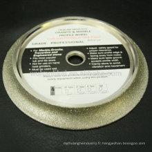 roue de coupe de diamant de haute qualité pour le granit