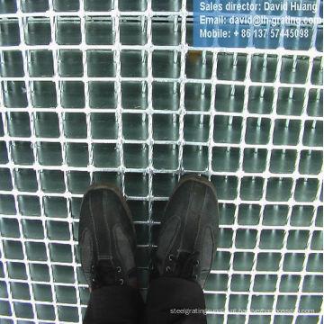 Malha de grade de aço galvanizado, malha de grade de aço galvanizado