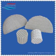 Ceramic corrugated structured packing
