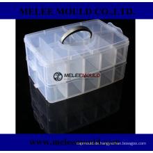 Kunststoff Klare Teile Aufbewahrungskoffer Form für Hardware Craft