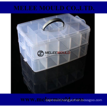 Plastic Clear Parts Storage Case Mould for Hardware Craft