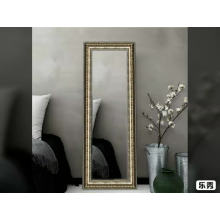 Huge european style hotel decoration dressing mirror 35*137cm sliver aluminum mirror