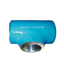 High Pressure Alloy Steel Reducing Tee WP12/WP11/WP22/WP5