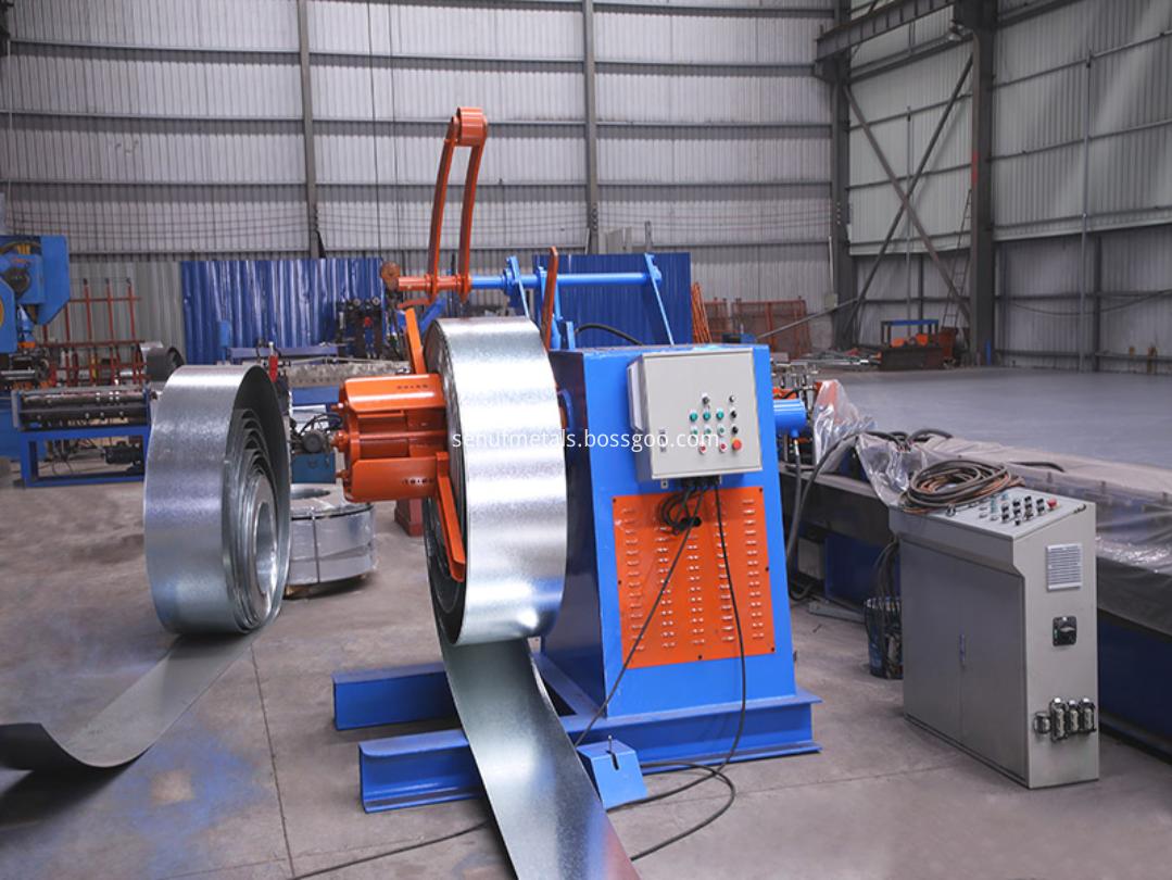 5 tons hydarulic decoiler