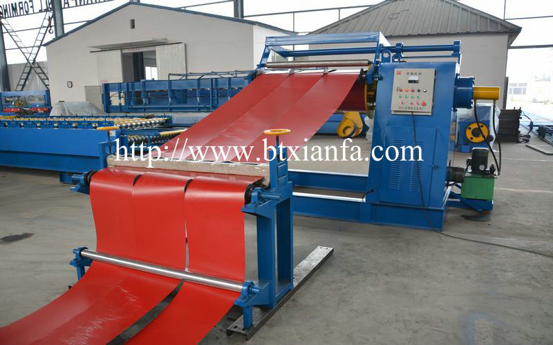 Color Steel Sheet Slitting Machine