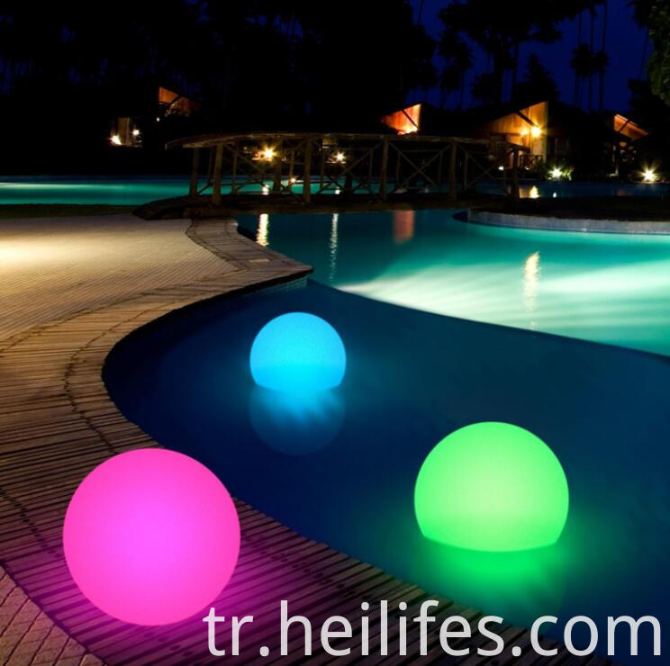 Waterproof decorative LED mood light ball