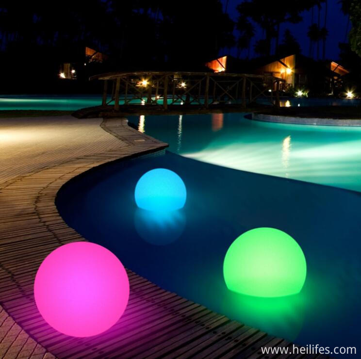 16 Colors Swimming Pool LED ball