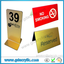 Sign Holder Table Top Acrylic Sign Holders