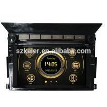 Heißer verkaufender Modellautomedien gps für Honda-Pilot mit GPS / Bluetooth / Radio / SWC / virtuellem 6CD / 3G Internet / ATV / iPod / DVR
