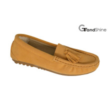 Women′s Loafers Flat Moccasions with Tassels