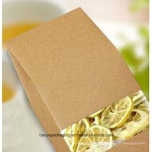 Без печати Крафт-бумажный мешок или цветочный пакет