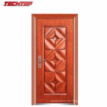 TPS-031 Puerta de hierro forjado Precio arco Puerta de seguridad de acero Puerta de entrada
