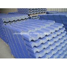 Produit de toiture synthétique léger en plastique résistant