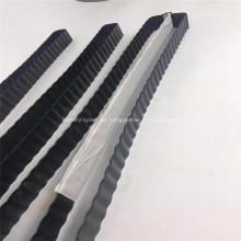 Tubo de enfriamiento de la batería de aluminio con revestimiento negro