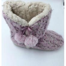 Strick Warm Lovely Indoor Stiefel