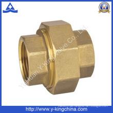 Messing Adapter / Union / Rohr / Stecker Rohrverschraubung (YD-6016)