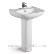 Lavabo caliente del pedestal del mejor precio de la venta A7103, lavabo del arte