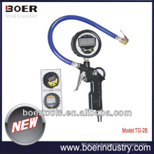 High Quality Air Tire Inflating Gun with digital air pressure gauge