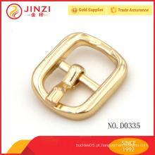 Personalizado fahion zinco liga de ouro metal fivela acessórios atacado D0335