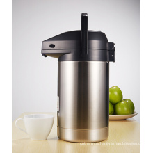 Stainless Steel Vacuum Airpot Thermos Jug with Pump System