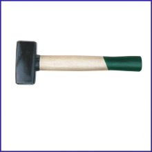 Xzjl-0013 German Type Stoning Hammer Bleached Wooden Handle