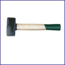 Xzjl-0013 alemão tipo martelo apedrejador alça de madeira descorada