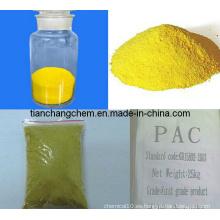 Cloruro de polialuminio / PAC para el tratamiento del agua