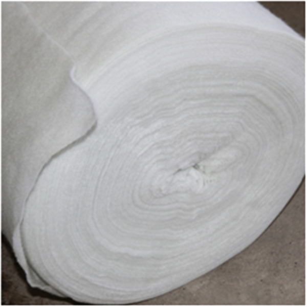 Needle punched polyester non-woven