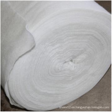 Relleno de algodón de fibra natural con aguja