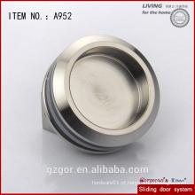 Maçaneta / puxador de móveis tamanho redondo 304SS magnífico para porta deslizante / móvel em vidro