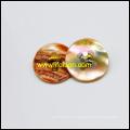 Abalone Muschel-Taste mit Metall-Schaft