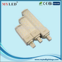 1200lm AC85-265V 4pin/2pin led pl lamp 10w G23/G24/E27 led pl light SMD2835 ce/rohs approved