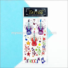 Plastic tattoo sticker made in China