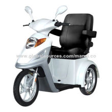Fast mobility scooters with three wheels, smart display with battery level indicator